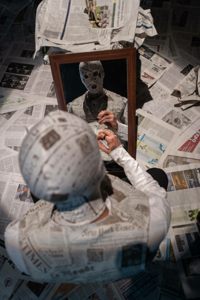 The Newspaper Man